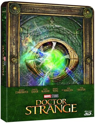 Doctor Strange (2016) (Limited Edition, Steelbook, Blu-ray 3D + Blu-ray)