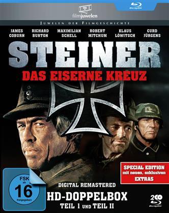 Steiner - Das eiserne Kreuz - Teil 1 & 2 (Filmjuwelen, Special Edition, 2 Blu-rays)