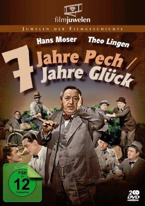 Sieben Jahre Pech / Sieben Jahre Glück (Filmjuwelen, s/w, 2 DVDs)