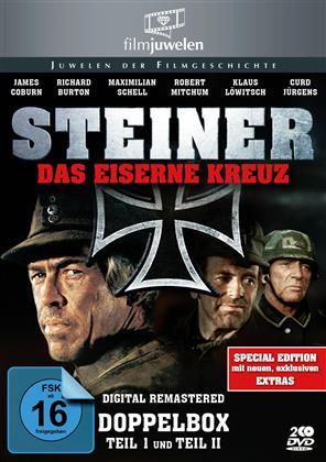 Steiner - Das eiserne Kreuz - Teil 1 & 2 (Filmjuwelen, Remastered, Special Edition, 2 DVDs)