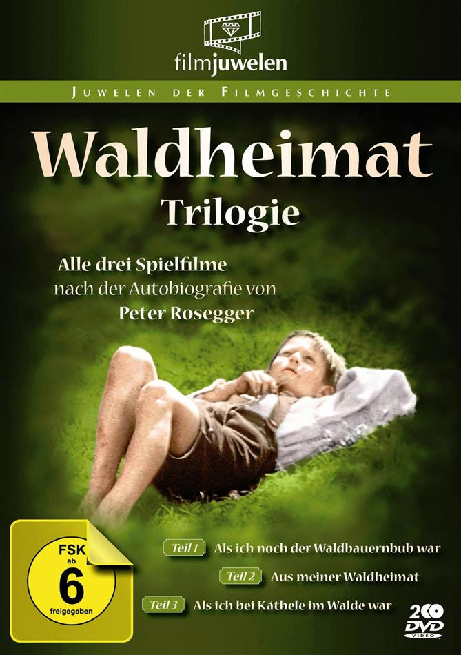 Waldheimat Trilogie (Filmjuwelen, 2 DVD)