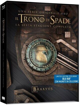 Il Trono di Spade - Stagione 6 (con magnete da collezione, Limited Edition, Steelbook, 4 Blu-rays)