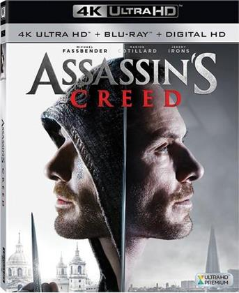Assassin's Creed (2016) (Widescreen, Blu-ray + 4K Ultra HD)