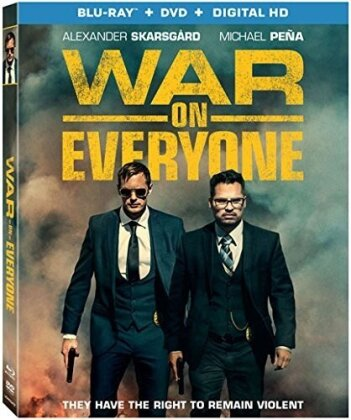 War on Everyone (2016) (Blu-ray + DVD)