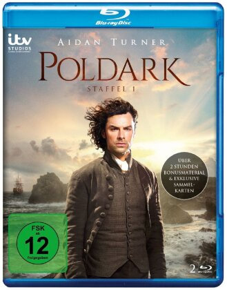 Poldark - Staffel 1 (2 Blu-rays)