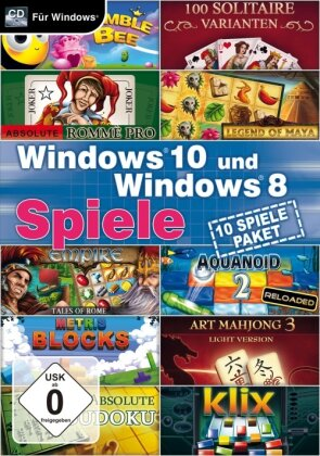 Windows 10 und Windows 8 Spiele