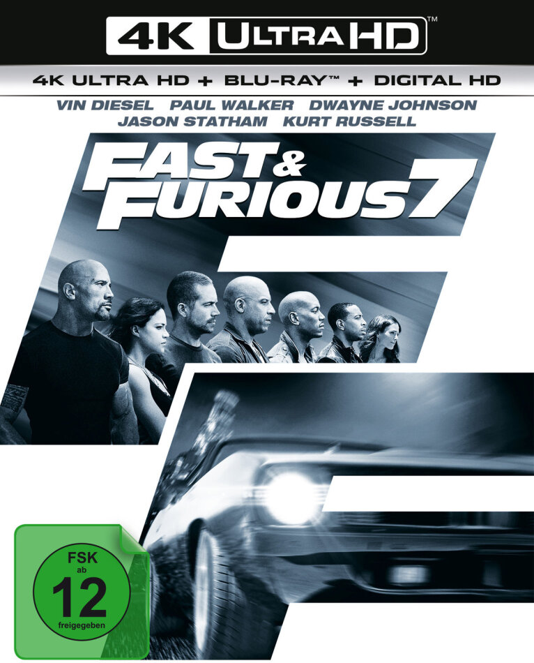 Fast & Furious 7 (2015) (4K Ultra HD + Blu-ray)