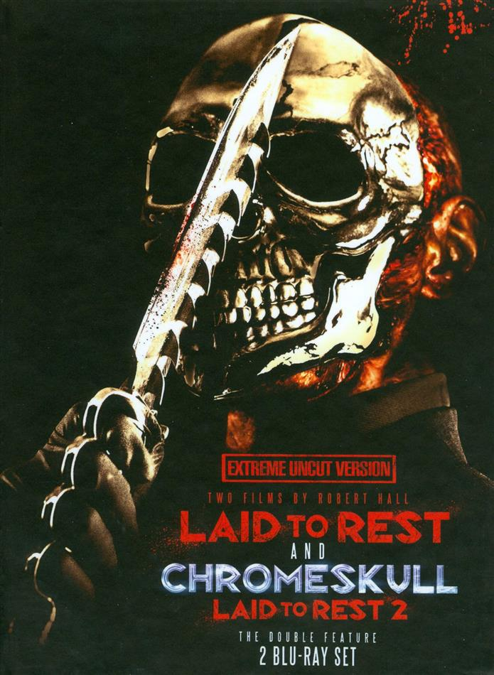 Laid to Rest / Chromeskull - Laid to Rest 2 - The Double Feature (Extreme Uncut Version, Limited Edition, Mediabook, 2 Blu-rays)