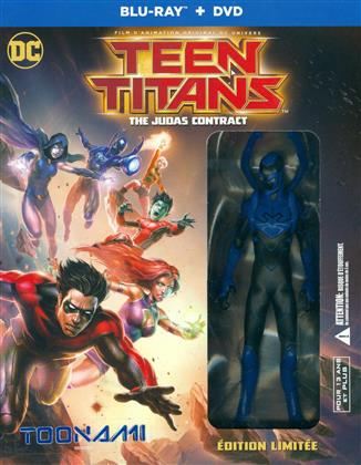 Teen Titans - The Judas Contract (2017) (+ Figurine, Limited Edition, Blu-ray + DVD)