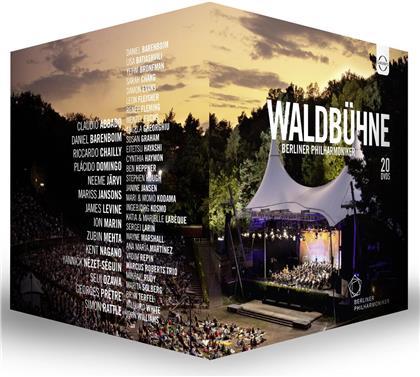 Berliner Philharmoniker - Waldbühne - 20 Konzerte von 1992 bis 2016 (20 DVDs)