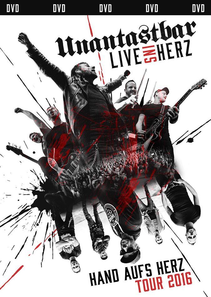 Unantastbar - Live ins Herz - Hand aufs Herz Tour 2016 (Limited Edition, 2 DVDs)