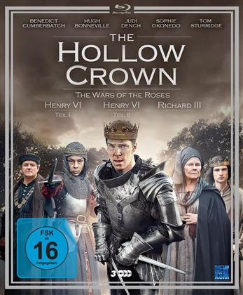 The Hollow Crown - Staffel 2 - The Wars of the Roses (3 Blu-rays)