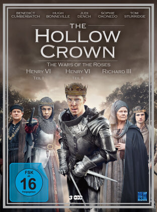 The Hollow Crown - Staffel 2 - The Wars of the Roses (3 DVDs)