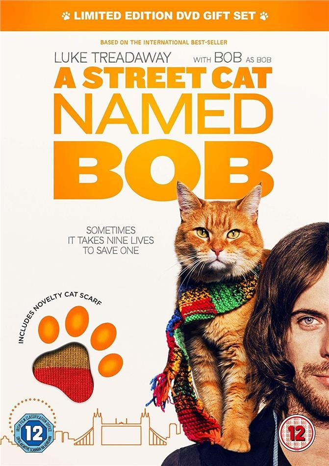A Street Cat named Bob - (DVD + Cat Scarf) (2016) (Limited Edition)