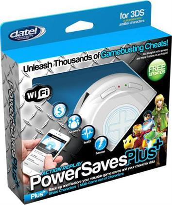 3DS Action Replay Powersaves PLUS L.E. inkl. Wi-Fi Connectivity