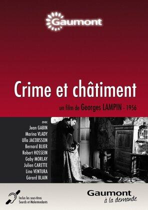 Crime et châtiment (1956) (Collection Gaumont à la demande, s/w)