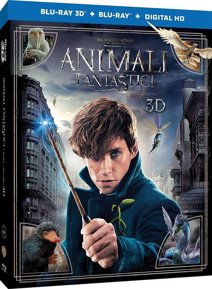 Animali fantastici e dove trovarli (2016) (Blu-ray 3D + Blu-ray)