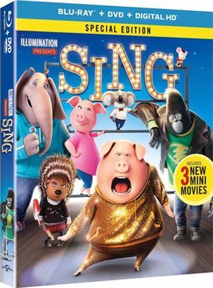 Sing (2016) - Sing (2016) (2PC) (W/DVD) (2016) (Special Edition, Blu-ray + DVD)