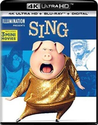 Sing (2016) - Sing (2016) (2PC) / (Wbr 4K) (2016) (Special Edition, Blu-ray + 4K Ultra HD)