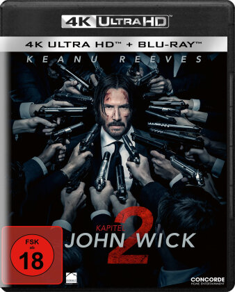 John Wick: Kapitel 2 (2017) (4K Ultra HD + Blu-ray)