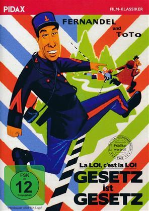 Gesetz ist Gesetz (1958) (Pidax Film-Klassiker, s/w)