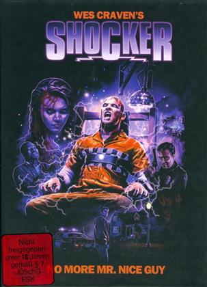 Shocker (1989) (Cover A, Limited Edition, Mediabook, Uncut, Blu-ray + DVD)