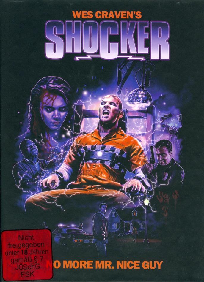 Shocker (1989) (Cover A, Edizione Limitata, Mediabook, Uncut, Blu-ray + DVD)