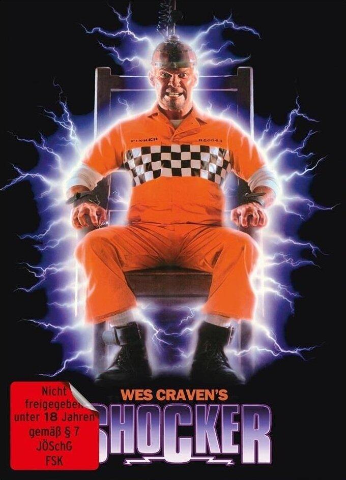 Shocker (1989) (Cover B, Edizione Limitata, Mediabook, Uncut, Blu-ray + DVD)