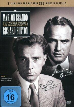 Marlon Brando & Richard Burton - Schwergewichte der Filmgeschichte (2 DVDs)