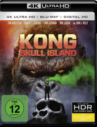 Kong: Skull Island (2017) (4K Ultra HD + Blu-ray)