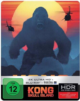 Kong: Skull Island (2017) (Steelbook, 4K Ultra HD + Blu-ray)