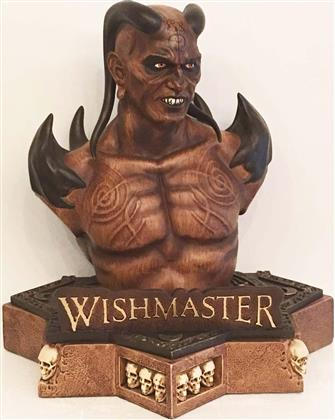 Wishmaster (1997) (mit Büste, Cover A, Limited Edition, Mediabook, Uncut, Blu-ray + DVD)