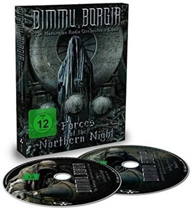 Dimmu Borgir & The Norwegian Radio Orchestra & Choir - Forces Of The Northern Night (Mediabook, 2 DVD + 2 CD)