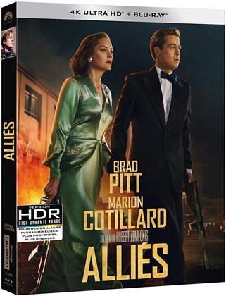 Alliés (2016) (4K Ultra HD + Blu-ray)