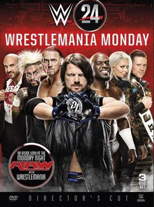 WWE: Wrestlemania 24 - Wrestlemania Monday (Director's Cut, 3 DVD)