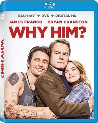 Why Him? (2016) (Blu-ray + DVD)