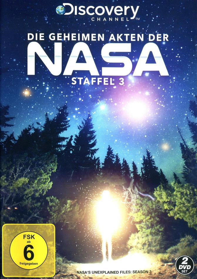 Die geheimen Akten der NASA - Staffel 3 (Discovery Channel, 2 DVDs)