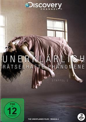Unerklärlich - Rätselhafte Phänomene - Staffel 2 (Discovery Channel, 3 DVD)