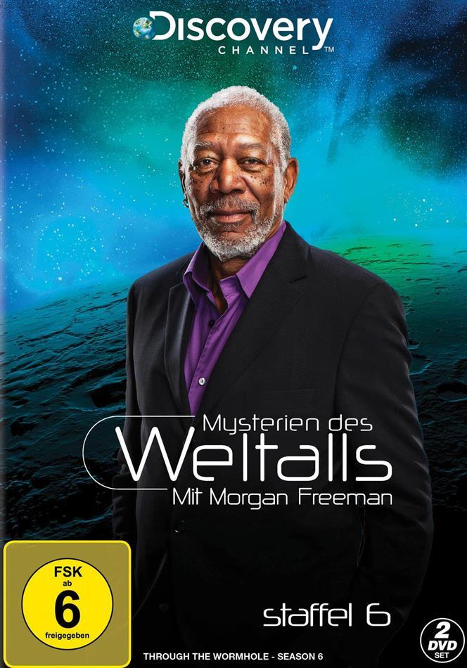 Mysterien des Weltalls - Mit Morgan Freeman - Staffel 6 (Discovery Channel, 2 DVDs)