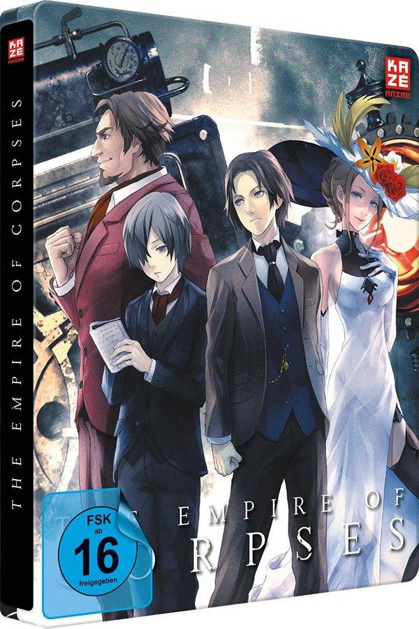 The Empire of Corpses - Project Itoh Trilogie - Teil 1 (2015) (Collector's Edition, Steelbook, Blu-ray + DVD)
