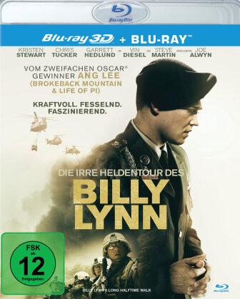 Die irre Heldentour des Billy Lynn (2016) (Blu-ray 3D + Blu-ray)