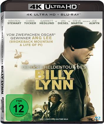 Die irre Heldentour des Billy Lynn (2016) (4K Ultra HD + Blu-ray)