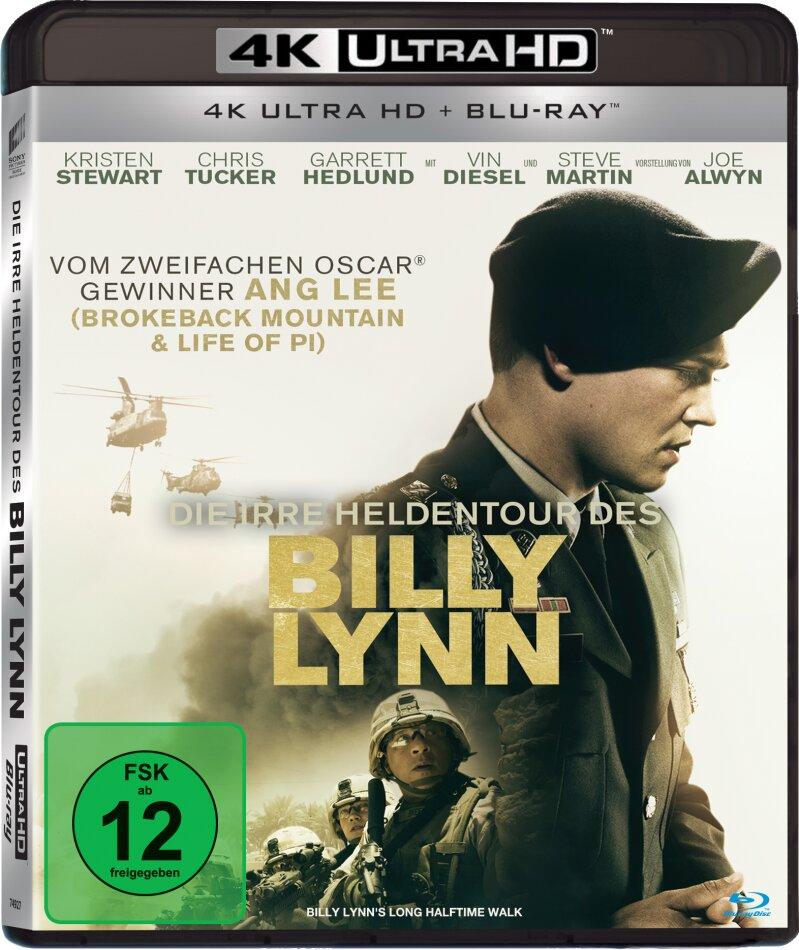 Die irre Heldentour des Billy Lynn (2016) (4K Ultra HD + Blu-ray)