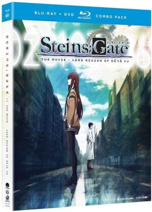 Steins;Gate - The Movie - Load Region of Deja Vu (2013) (Blu-ray + DVD)