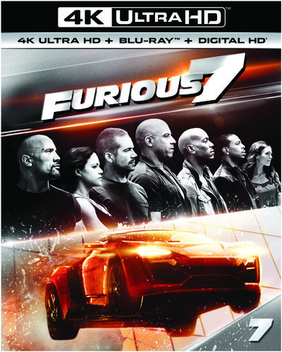 Furious 7 (2015) (4K Ultra HD + Blu-ray)