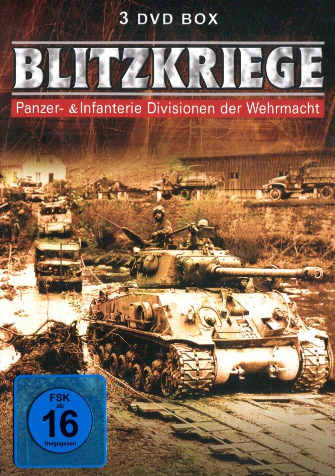 Blitzkriege - Panzer-& Infanterie Divisionen der Wehrmacht (s/w, 3 DVDs)
