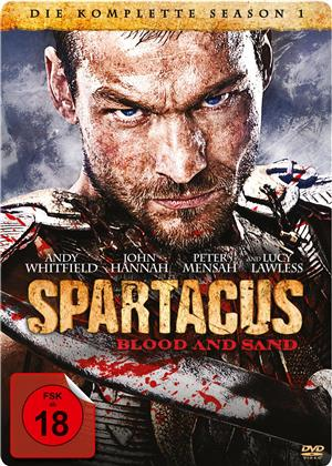 Spartacus - Blood and Sand - Staffel 1 (Steelbook, 5 DVD)