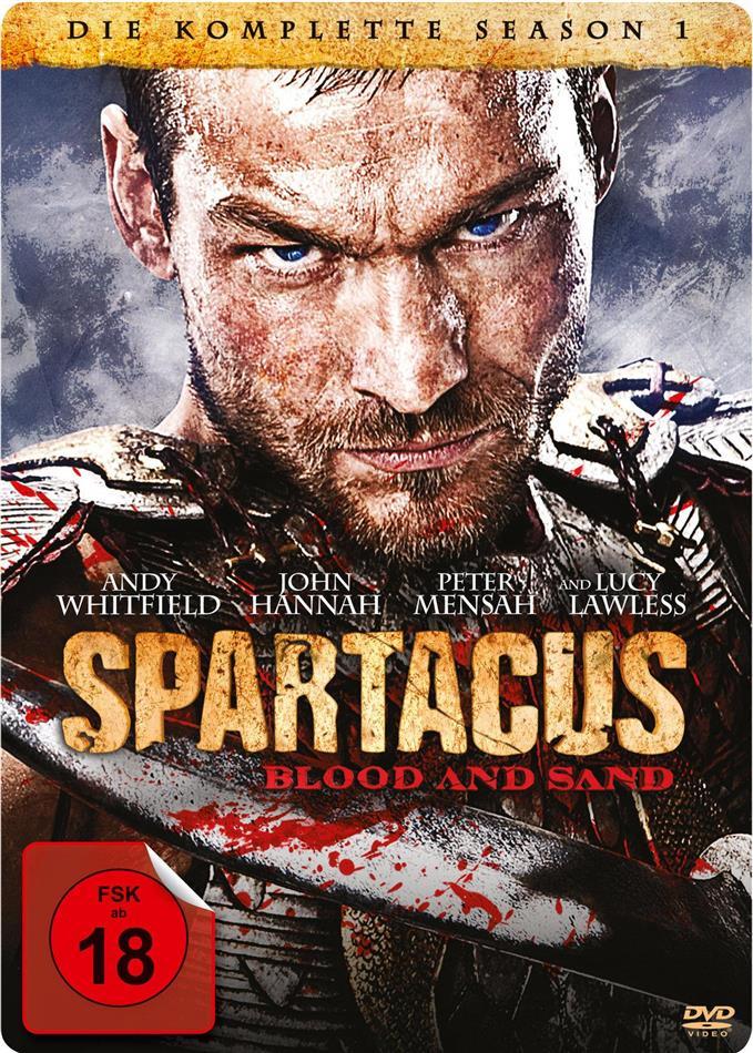Spartacus - Blood and Sand - Staffel 1 (Steelbook, 5 DVDs)