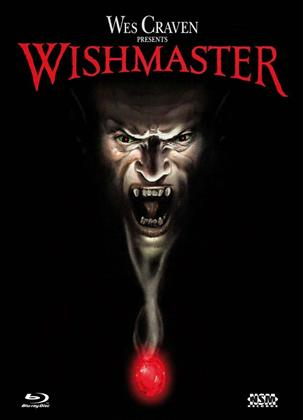 Wishmaster (1997) (Cover A, Limited Edition, Mediabook, Uncut, Blu-ray + DVD)