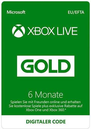 XBOX Live Card 12 Monate Gold